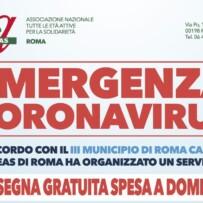Emergenza Coronavirus III Municipio